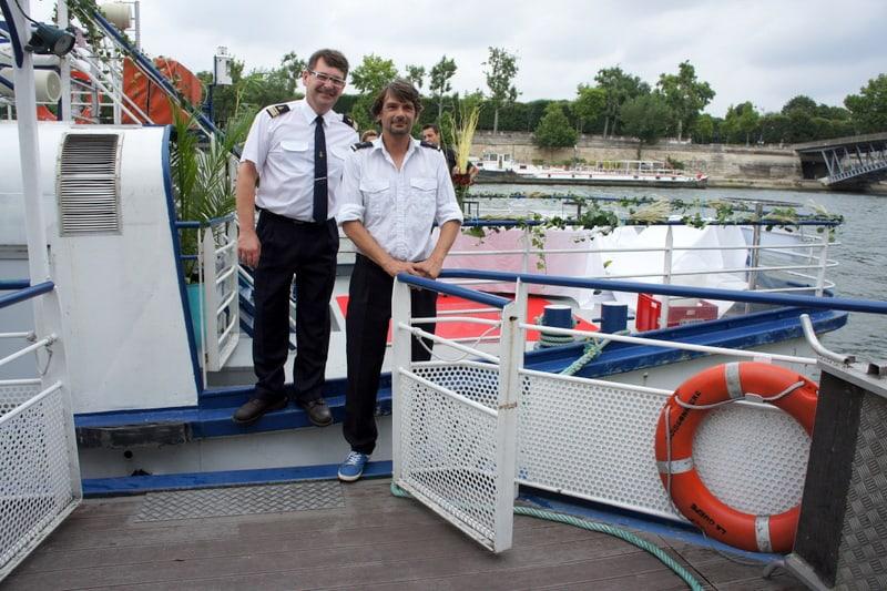 Nos capitaines sont à votre service