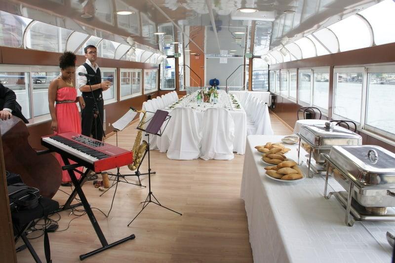 Martin Pêcheur Dîner et Musiciens