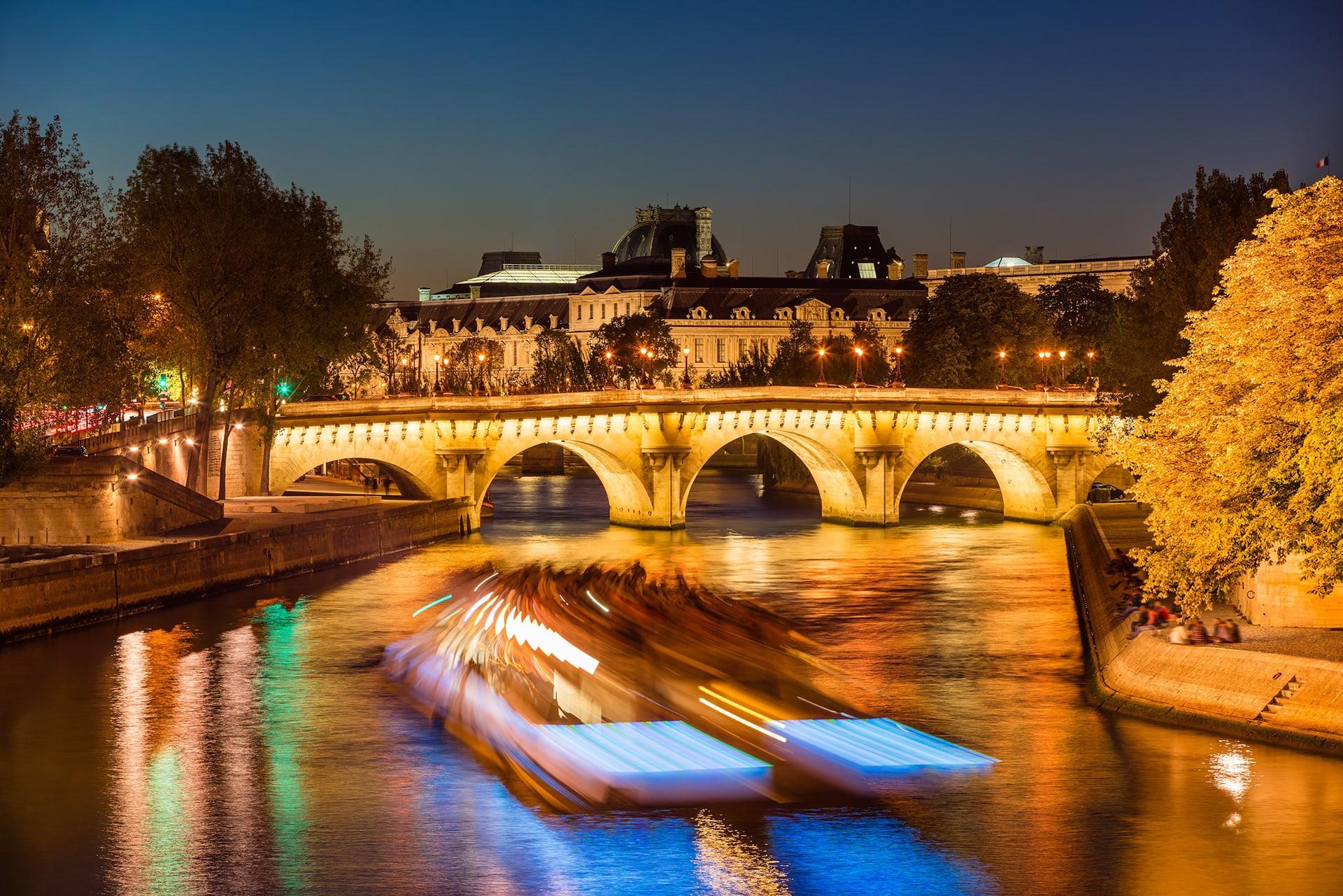 Votre évènement sur la Seine