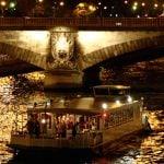 La guêpe buissonnière passe un pont de paris la nuit