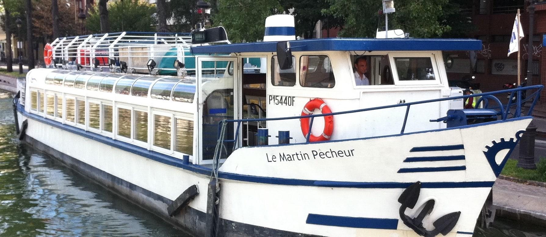 Le Martin Pêcheur vue de côté