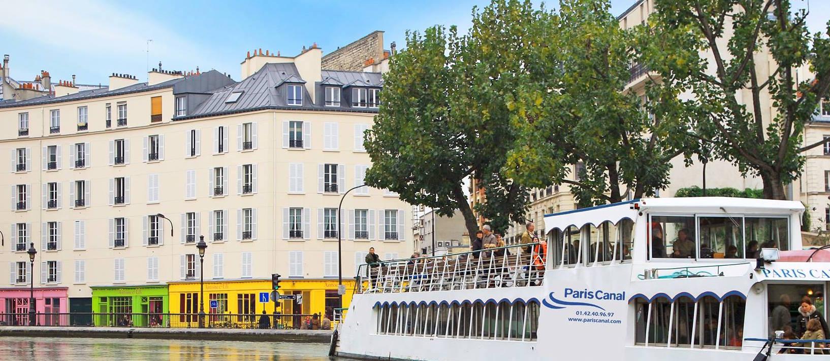 Le Canotier sur le Canal Saint Martin