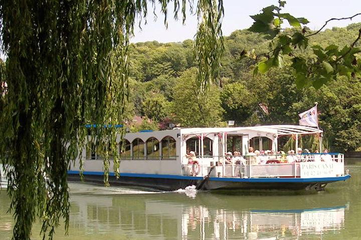 Les bords de la Marne et la Guêpe Buissonnière