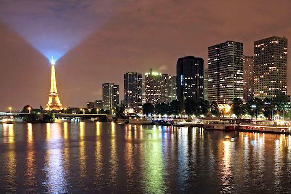 La Seine et la Tour Eiffel