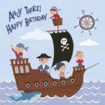Une croisière anniversaire sur un bateau à paris avec animation Pirates