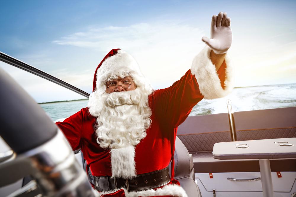 Noël en navigation